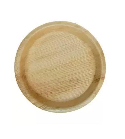 """Disposable Plate Areca Leaf 10"""" (10 pcs pckt)"""