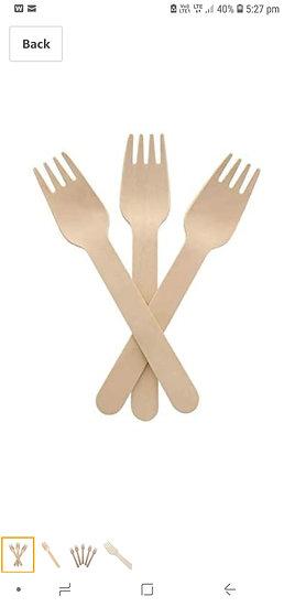 """Dinner Fork -Birchwood 6""""  (100 pcs pckt)"""