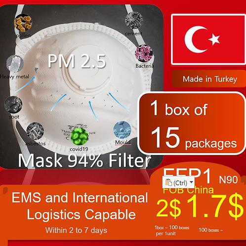 N95 FFP1 PM2.5