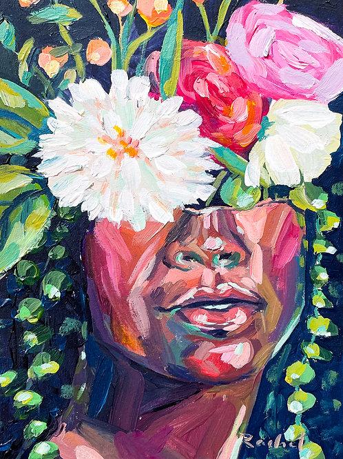 """She Was Fierce"" Original Acrylic Painting"