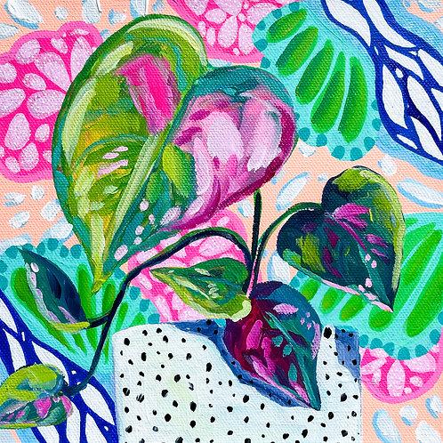 """Green Thumb"" Original Acrylic Painting"