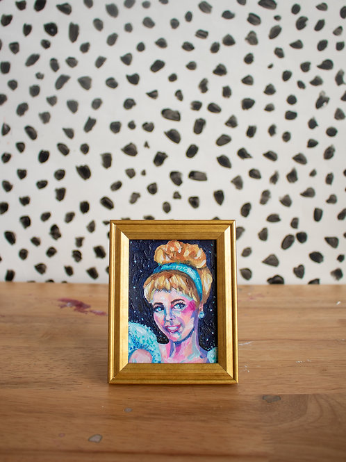 """Cinderella"" Original Acrylic Painting"