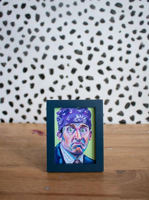 """Prison Mike"" Original Acrylic Painting"