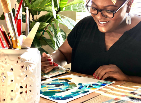 Creating, Purpose, And Painting With Courtney Simone
