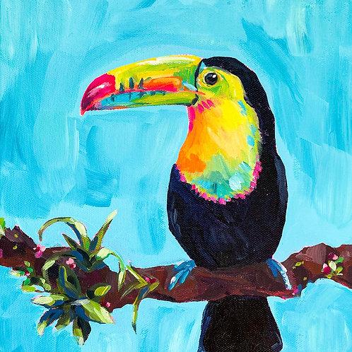 """""""Tutti Fruiti"""" Original Acrylic Painting"""