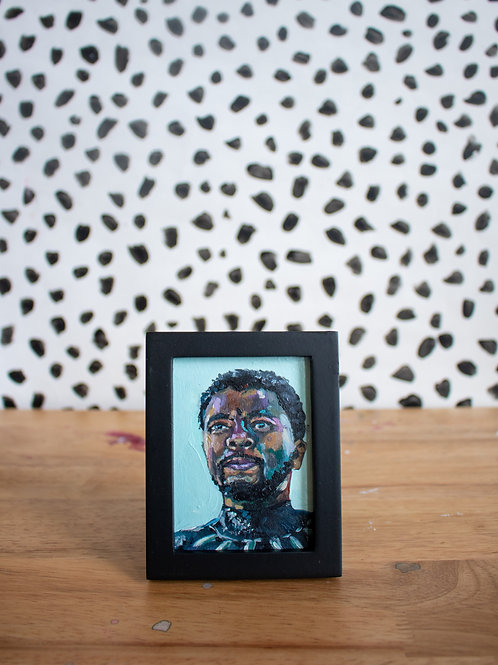 """Wakanda Forever"" Original Acrylic Painting"