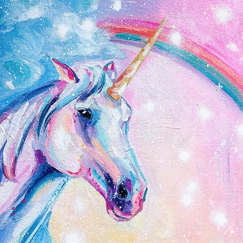 """Made of Magic"" Original Acrylic Painting"