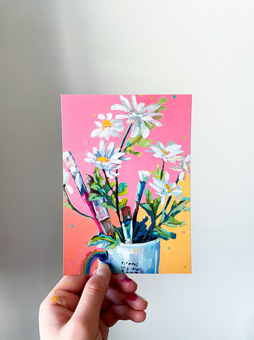 """The Thriving Artist's Tools"" Postcard Print"