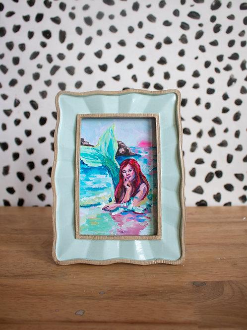 """The Little Mermaid"" Original Acrylic Painting"