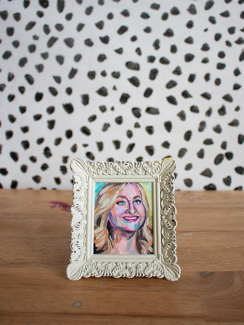 """""""Leslie Knope"""" Original Acrylic Painting"""