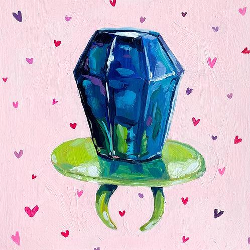 """Ring Pop Proposal"" Original Acrylic Painting"