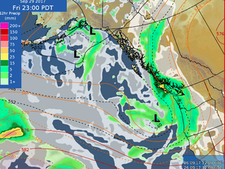 Check out this link for up-to-date Mountain Weather Forecasts & Wx Models