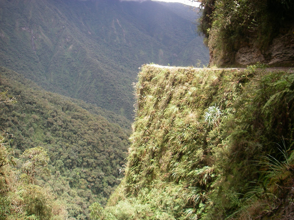 The World's Most Dangerous Road in Bolivia