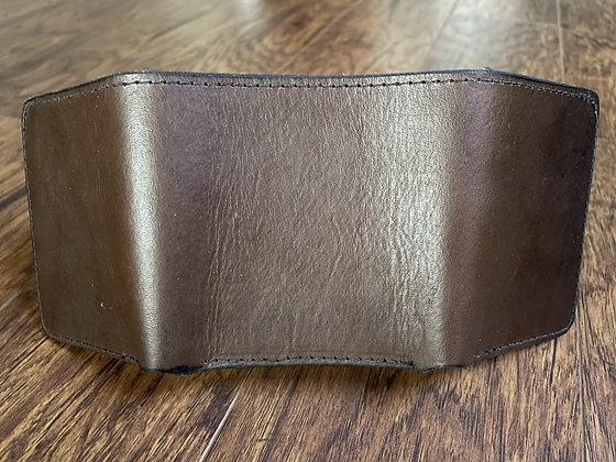 Show Brown Trifold Wallet