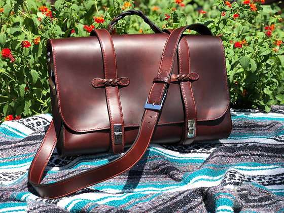 Chestnut Briefcase