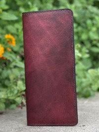 Burgundy Tally Book Cover