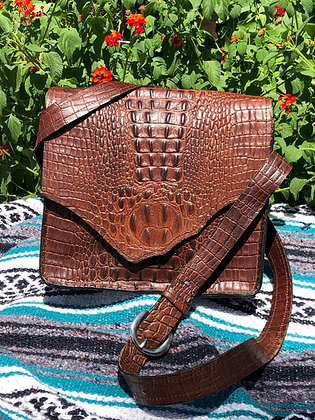 Embossed Alligator Two-Toned