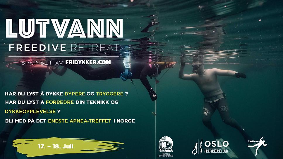 Lutvann Freedive Retreat 17-18 juli 2021