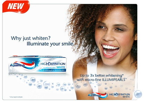 Aquafresh campaign