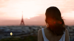 Eifel tower sunset