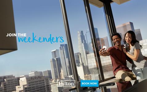 Hilton Weekenders advertising