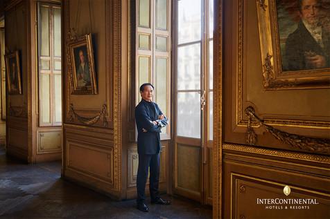Charles Jude Opéra National de Bordeau Intercontinental hotels