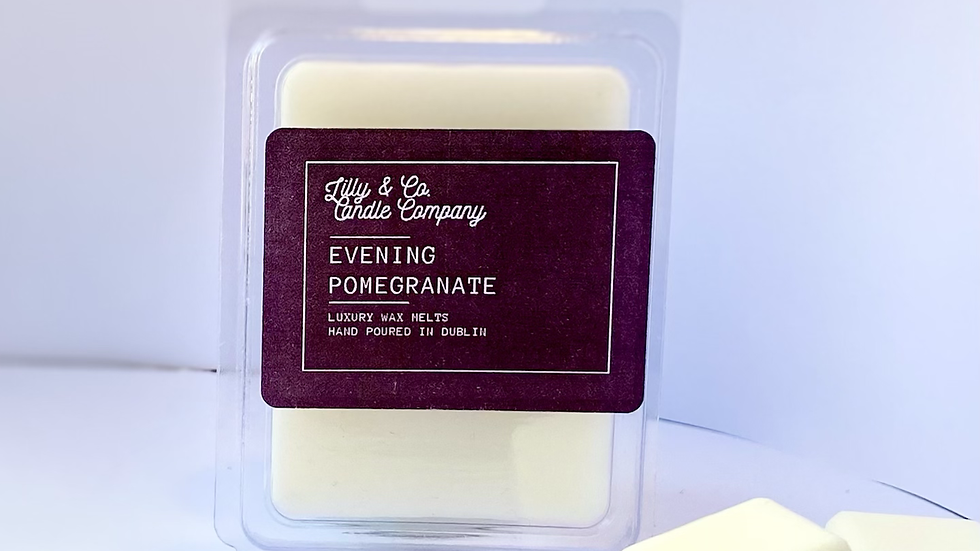 Evening Pomegranate - Luxury Wax Melt