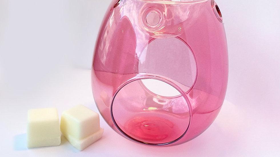 Pretty N Pink - Glass Wax Melt Burner