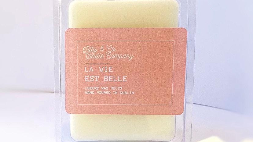 La Vie Est Belle- Luxury Wax Melt