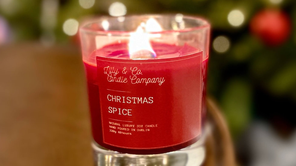 [2 for €40] Christmas Wood Wick Candles