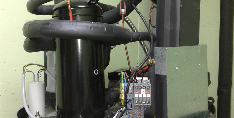 ECS (Eau Chaude Sanitaire) sur système Eau/Eau.