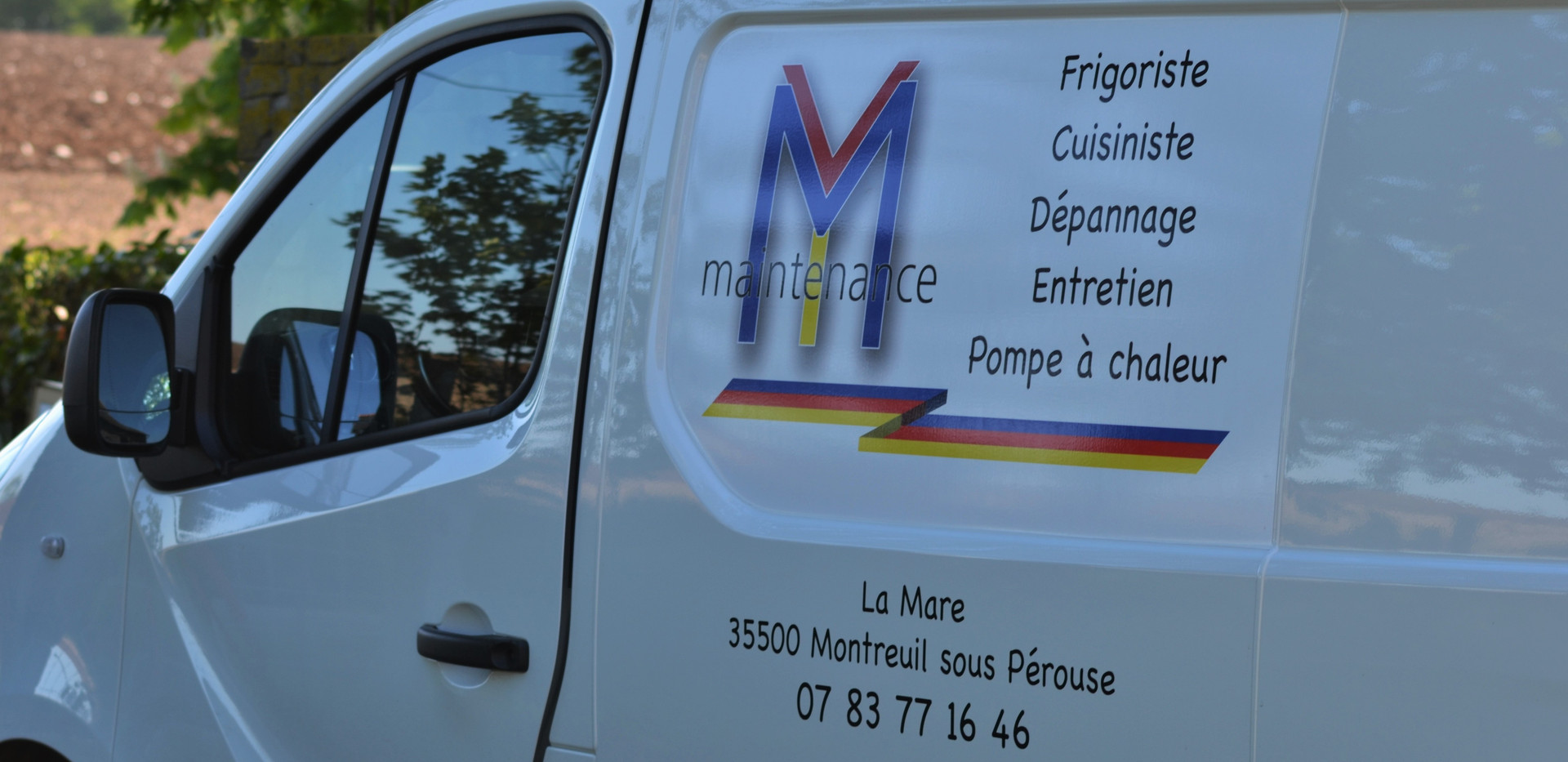 Camion M.Y. Maintenance