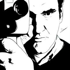 Quentin Tarantino (Noir Portrait)