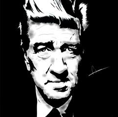 David Lynch (Noir Portrait)