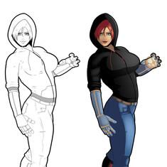Jericho (Character Design)