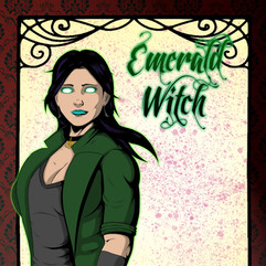Emerald Witch (Poster/Cover Design)