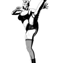 Lady Satan (Character Design)