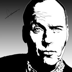 Michael Keaton (Noir Portrait)