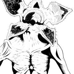 Demogorgan (Stranger Things Fan Art)