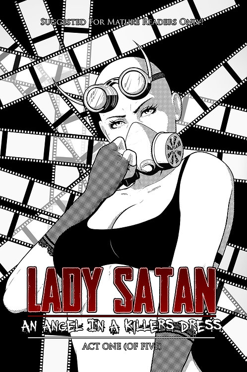 LADY SATAN: AN ANGEL IN A KILLERS DRESS (SOFT COVER)
