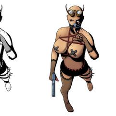 Lady Satan (Character Design & Color Test)