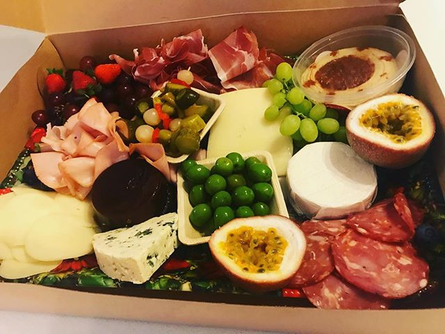 Merry Christmas , platters ready  being picked up and ready to go #sydneycaterer #grazing #charcuter