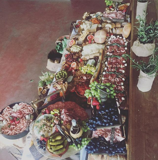 Party #2 we catered this amazing grazing table for 40th birthday #formaggio #grazingtable #rustic #4