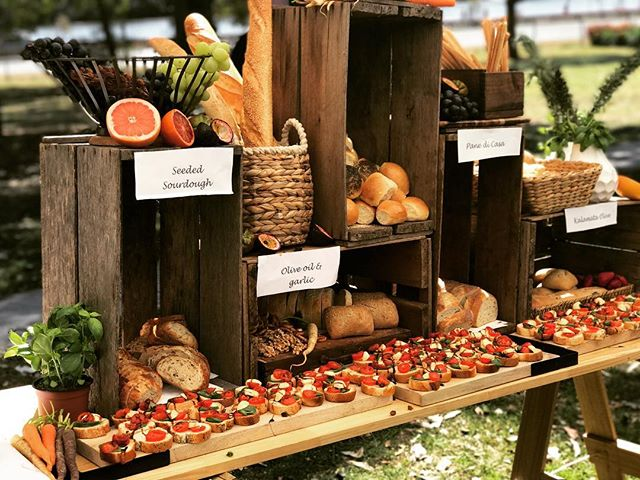 Now offering our bread station to your event #sydneycaterer #grazingtable #wwl #weddinginspo #birthd