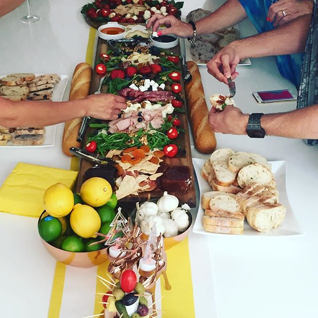 Breakfast point Christmas party #breakfastpoint #charcuterie #christmas #antipasto #antipastoboard #