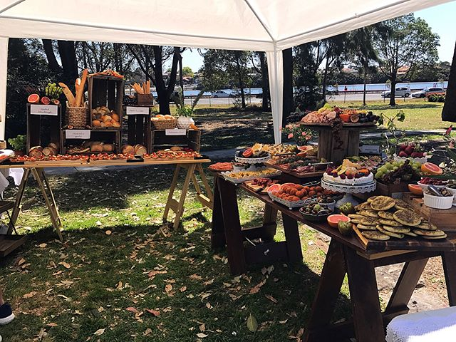 How can you not fall in love with today's graze #wwl #grazingtable #sydneycaterer #party _grazingtab