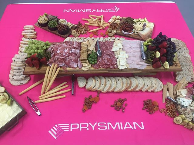 Why not impress your clients with some corporate catering from pan e antipasti , thank you _prysmian