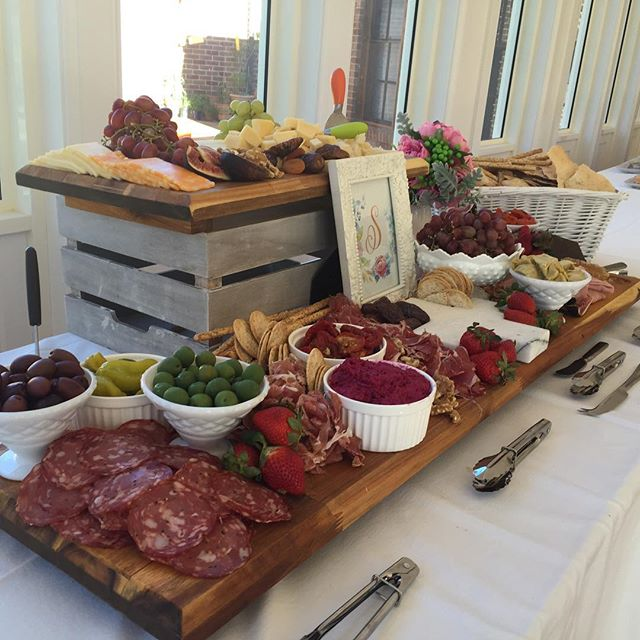 Antipasto board set up for Sara's confirmation #antipasti #grazing table #confirmation #sacrament #h