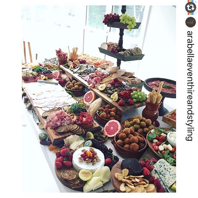 #Reposting _arabellaeventhireandstyling with _instarepost_app -- Michelle's 30th birthday spread by