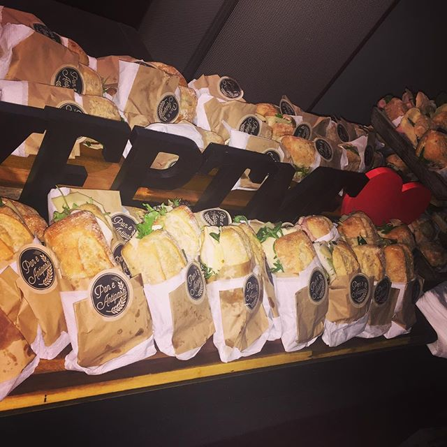 Pan e antipasti have been busy preparing these scrumptious panini for the unveiling of #keptme an in